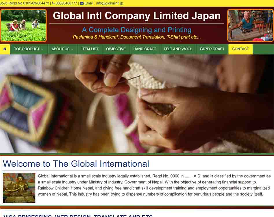 Global Intl Company Limited Japan